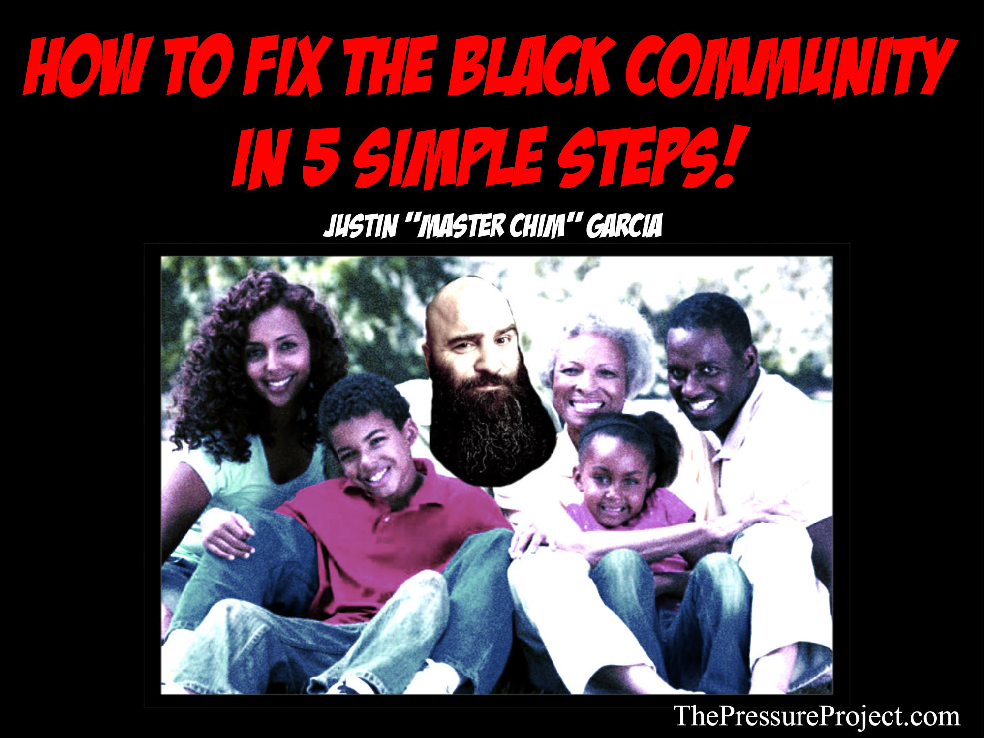 How to Fix the Black Community In 5 Easy Steps